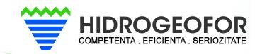 Hidrogeofor - foraje geotermice pentru pompe de caldura, foraje de alimentari cu apa, studii geotehnice, sisteme de epuisment